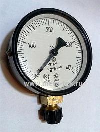 Манометр МП3-УУ2 (0...400)кгс/см2
